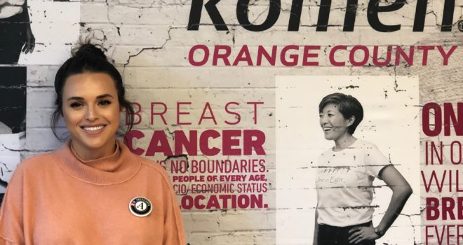 AmeriCorps Volunteer is an Ally in the Fight Against Breast Cancer
