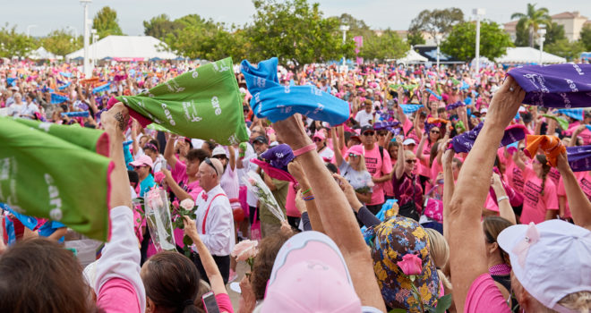 The MORE THAN PINK Walk®: Transforming Awareness into Action