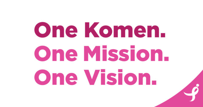 We Are One Komen